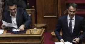 Άγρια σύγκρουση Μητσοτάκη – Τσίπρα στη Βουλή για την (ν)τροπολογία διαγραφής προστίμων λαθρεμπορίου