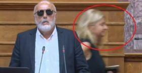 Η ΞΑΝΘΙΑ ΣΥΡΙΖΑΙΑ ΠΟΥ ΓΕΛΑΓΕ ΣΤΗ ΒΟΥΛΗ ΜΕ ΤΗΝ ΠΕΤΡΕΛΑΙΟΚΗΛΙΔΑ  -Προκάλεσε την οργή Μητσοτάκη (Βίντεο)