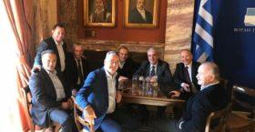 Συνάντηση Σαμαρά με βουλευτές στην Βουλή