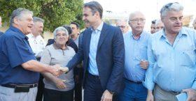 Περιοδεία υψηλού συμβολισμού Μητσοτάκη στη Μακεδονία