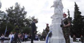 Θερμή υποδοχή στον Μητσοτάκη από τους Μακεδόνες