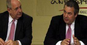 Τελεσίγραφο Καμμένου για Κουίκ: Ή τον διώχνεις ή φεύγω από την κυβέρνηση