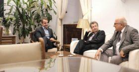 Είναι επίσημο: Με την ΝΔ κατεβαίνουν Πέτρος Τατσόπουλος, Αντώνης Πανούτσος