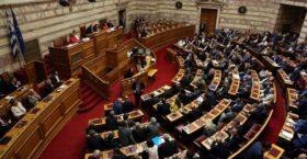 Χαμός στη Βουλή από αποθέωση του δικτάτορα Παπαδόπουλου από την ΧΑ