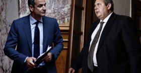 Επίθεση της ΝΔ στον Καμμένο για τη συμφωνία των Πρεσπών