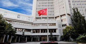 Αδιανόητο: Το τουρκικό ΥΠΕΞ επιτίθεται στην Αθήνα επειδή αντέδρασε στα περί «γκιαούρηδων» του Ερντογάν