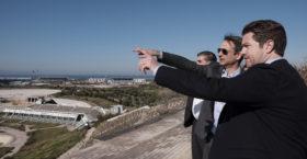 Ο Κυριάκος Μητσοτάκης στο Ελληνικό: «Σε αυτόν τον χώρο θα έπρεπε σήμερα να δουλεύουν δεκάδες χιλιάδες συμπολίτες μας»