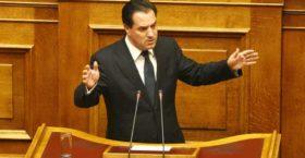 """Άδωνις Γεωργιάδης: Ο Πρωθυπουργός της """"Πρώτης Φοράς Αριστεράς"""" κάνει δώρο 40 εκατομμυρίων ευρώ στον ΟΠΑΠ (VIDEO)"""