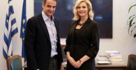 Υποψήφια στα νότια της Β' Αθηνών η Έμη Ζησιοπούλου – Λιβανίου