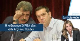 Η κυβέρνηση ΣΥΡΙΖΑ είναι κάθε λέξη του Πολάκη