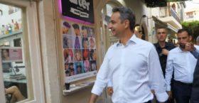 Η ατάκα του Μητσοτάκη σε κουρείο στην Κρήτη: «Δεν πιστεύω να τα παίρνετε ΣΥΡΙΖΑ»