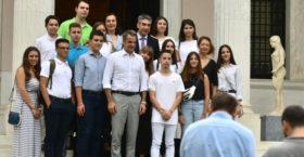 Μητσοτάκης: «Συγχαίρω τους μαθητές για την κινητοποίηση για την κλιματική αλλαγή»