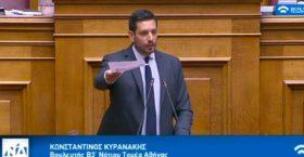 Παρέμβαση Κυρανάκη για τις άσχετες τροπολογίες στα νομοσχέδια – Ζητά την εφαρμογή της απαγόρευσης